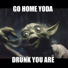 Yoda Meme Creator - beautiful gratefull i am dead i soon will be yoda meme generator