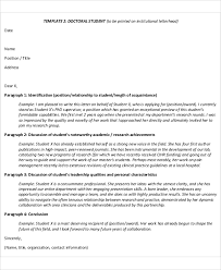 best ideas of sample recommendation letter student leadership for