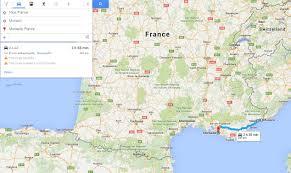 Map South Of France by Southern France U2013 Travelling Mug