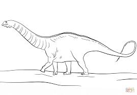 jurassic park apatosaurus coloring page free printable coloring