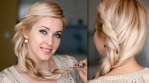 everyday hairstyle for long hair twisted braid tutorial