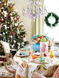 Bright Christmas Decorations Pink And Green Bright Christmas Decor Decor Advisor
