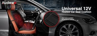 audew universal heated car seat cushion cover 12 volt plug u0027s into