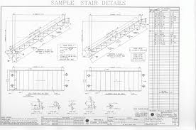 how to build stairs with a landing structural staircase detail