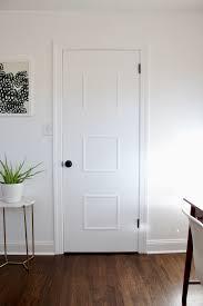 Interior Door Makeover Mid Century Door Makeover