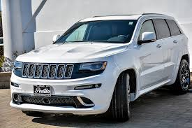 jeep grand 2015 pre owned 2015 jeep grand srt with navigation sport