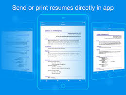 How To Send Resume Online by Quick Resume Resumes Builder And Designer On The App Store