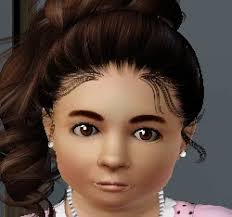 toddler earrings jamee s sims 3 toddler accessories