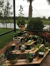 best 25 outdoor plant stands ideas on diy yard decor