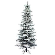 12 ft flocked trees wayfair