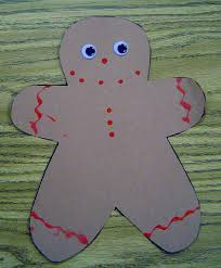 gingerbread man theme activities for preschool