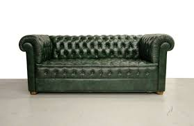 chesterfield sofa vintage green leather chesterfield sofa at 1stdibs
