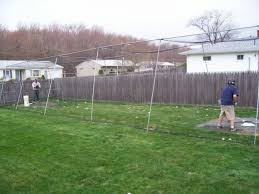 backyard batting cages how to build a backyard batting cage