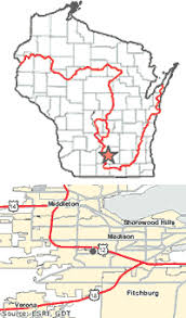 wisconsin scenic drives map our staff offices age national scenic trail u s national