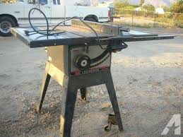 craftsman 10 portable table saw nice 10 inch craftsman table saw 1hp for sale in hemet california