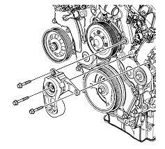 repair instructions off vehicle drive belt tensioner