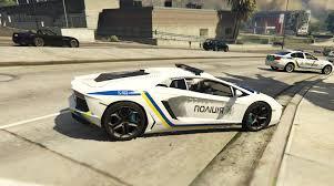 lamborghini aventador png ukrainian police lamborghini aventador gta5 mods com