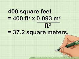 metre to square feet how to convert square meters to square feet and vice versa