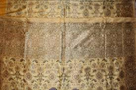 old real zari cream sari from varanasi india sari in cream by pure