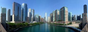 City Of Chicago Map by Google Map Of Chicago Illinois Usa Nations Online Project