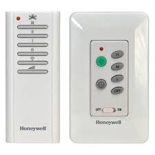 honeywell combo wall and handheld control ceiling fan remote
