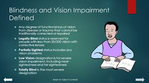 Legally Blind Definition Information Advice And Resources For Disabilities In Education