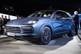 porsche jeep updated 2019 porsche cayenne revealed with 911 inspired styling