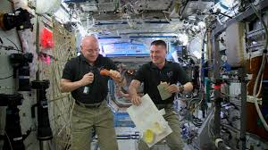 thanksgiving 2015 on the international space station