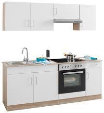 Kueche Kaufen Mit Elektrogeraeten Held Möbel Küchenzeile Mit E Geräten Melbourne Breite 200 Cm
