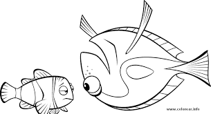 pez vuelto finding nemo printable coloring pages kids