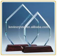 Crystal Souvenirs Clear K9 Blank Glass Crystal Photo Frame Block Awards Plaque For