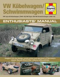 kubelwagen schwimmwagen manual haynes publishing