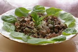 comment cuisiner des foies de lapin recette de salade de foies de lapin la recette facile
