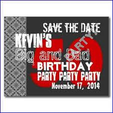save the date cards for 60th birthday party home design ideas