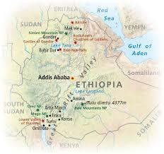 Map Of Ethiopia Ethiopia Ancient Abyssinia Adventure Associates