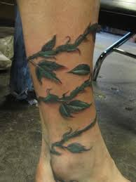 vines on leg http 99tattoodesigns com vines leg