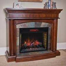 rock electric fireplace binhminh decoration