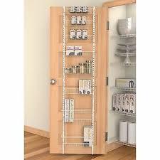 kitchen cabinet door storage racks details about rack organizer shelf kitchen cabinet back door white storage pantry bathroom new