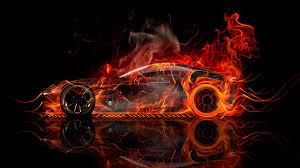 subaru fire mazda rx vision concept side super fire car 2015 el tony