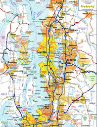 Road Maps Usa by Highways And Roads Map Of Seattlefree Maps Of Us