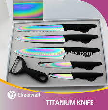 titanium kitchen knives high quality titanium kitchen knife buy knife sheath titanium