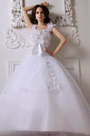 us 263 20 satin straps sweep train ball gown wedding dress with