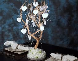 items similar to white wedding manzanita tree centerpieces white