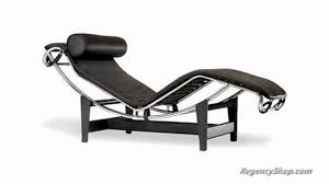 Chaise Lounge Furniture Le Corbusier Lc4 Chaise Lounge Chair Regencyshop Com Youtube