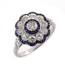 flower style rings images Flower style wedding rings jpg