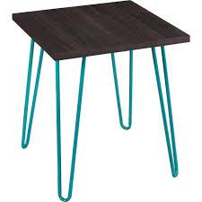 altra furniture owen retro table espresso finish with