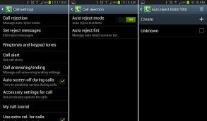 block unwanted calls on android