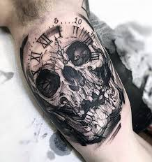 60 badass skull tattoos for men masculine design ideas