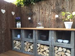 Outdoor Kitchen Against House Best 25 Veranda Ideas Ideas On Pinterest Tuin Garden Lighting