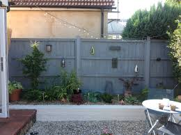 garden walls and fences home outdoor decoration grey fence white painted wall